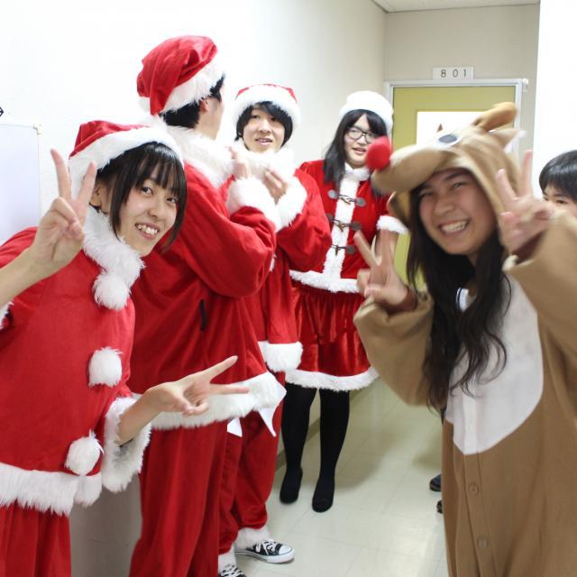 YICキャリアデザイン専門学校 【イベント】クリスマス会20181