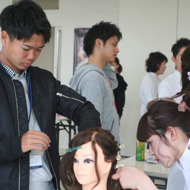 国際理容美容専門学校 高校1,2年生限定イベント【ビューティ業界を体験しよう】1