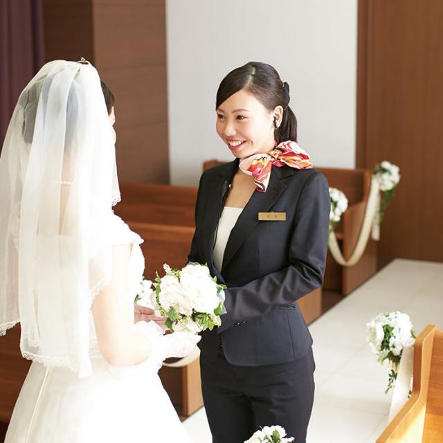 名古屋外語・ホテル・ブライダル専門学校 OPEN CAMPUS ブライダルプランナーコースへ参加1