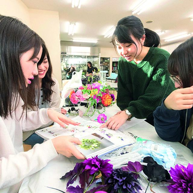 仙台総合ビジネス公務員専門学校 フラワー科 オープンキャンパス【送迎バス運行】3