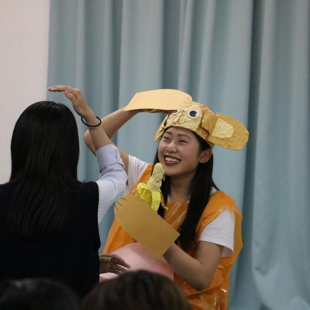 貞静学園短期大学 学生生活、入試対策、、先輩に聞いちゃおう!1
